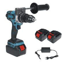 18V 13mm cordless impact drill 18V 13mm brushless impact drill 18V impact drill 18V screwdriver drill with two batteries