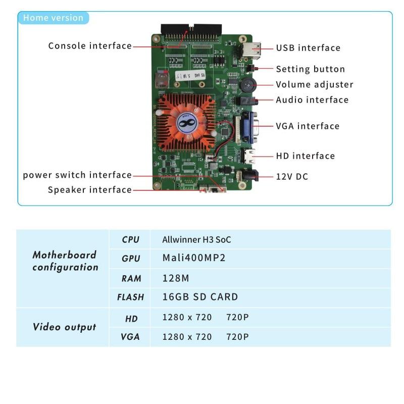 pandora 9H 3D arcade console 01