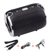 Portable Small Bluetooth Speaker With FM Radio Music Bass Subwoofer TF AUX USB Speakers For Computer Phones  Caixa De Som