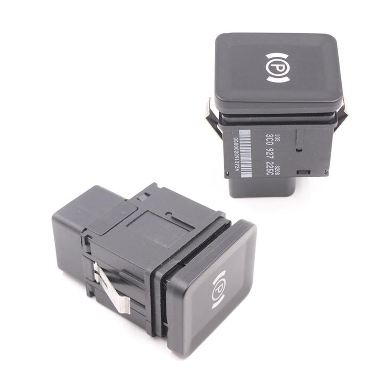 Auto Car Electronic Handbrake Brake Switch Button For VW Passat CC R36