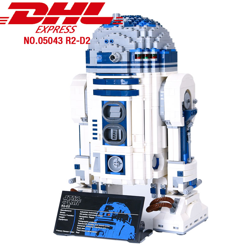 05043 Star Toys Series Wars Out Of Print The R2 Robot Set D2 Model Building Blocks Bricks 10225 Birthday Christmas Gifts Toys