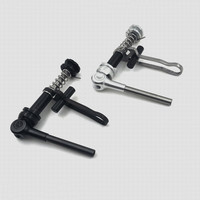 Folding bicycle seat post Clamp folding wrench for brompton seat tube clamp ultra light titanium + aluminum alloy