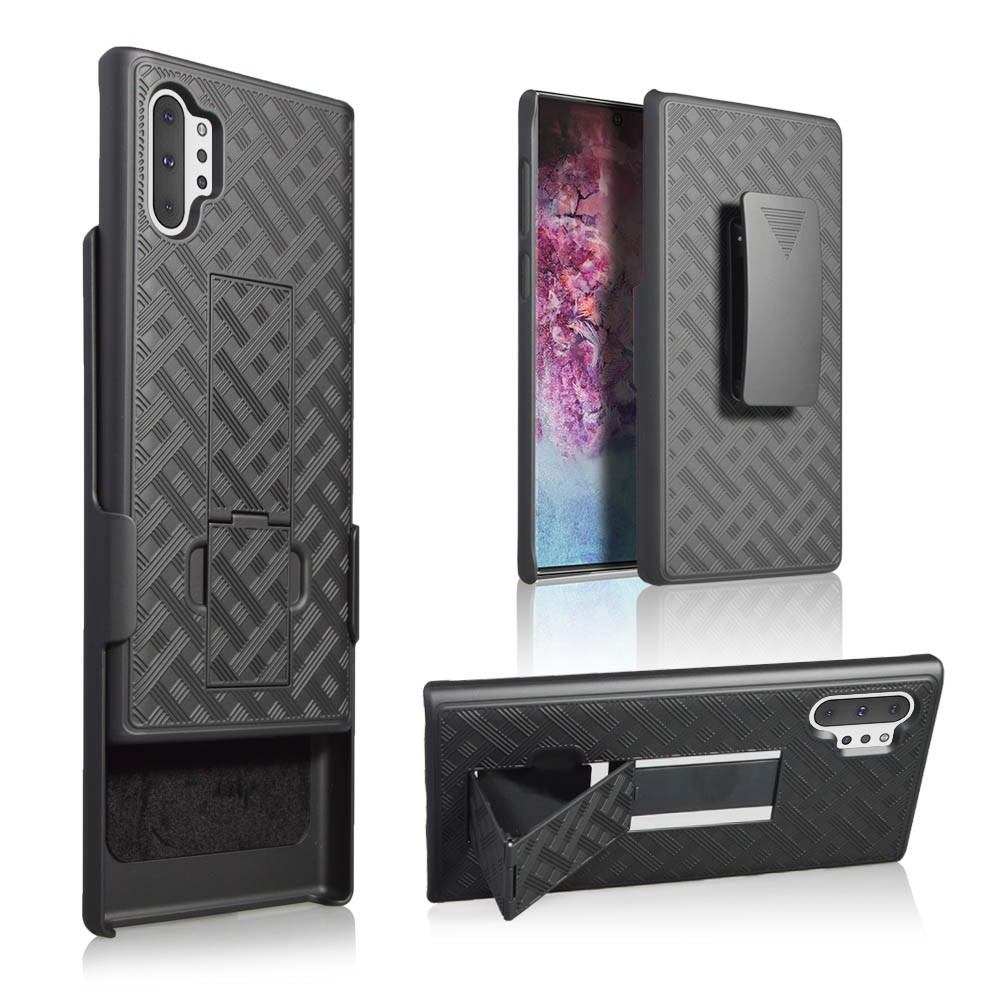 Case With Belt Clip Holster For Samsung Galaxy Note 10+/Plus 6.8Inch Phone Case As A Phone Holder