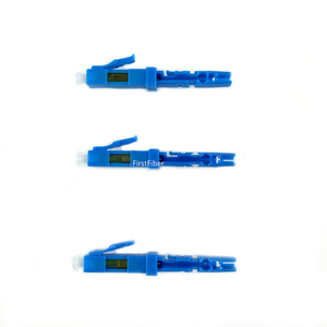 Image 3 - 10PCS LC UPC Snelle Connector single mode glasvezel quick connector LC Embedded type FTTH Glasvezel Snelle connector