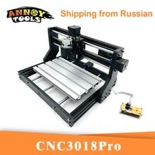CNC 3018Pro grawer laserowy GRBL 1.1 frez CNC, 3 osiowa frezarka, frezarka do drewna grawerowanie laserowe, 5500MW/15000mW praca w trybie offline