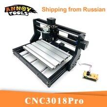 Grabador láser CNC 3018Pro GRBL 1,1 cortador CNC, fresadora de 3 ejes, enrutador de madera grabado láser, trabajo fuera de línea de 5500MW/15000mW