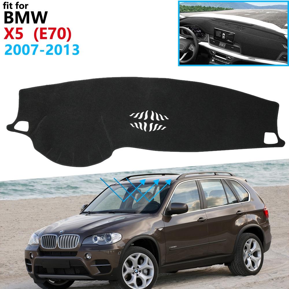 Dashboard Cover Protective Pad For BMW X5 E70 2007~2013 Car Accessories Dash Board Sunshade Carpet Anti-UV Carpet Mat 2011 2012