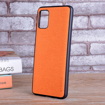 Galaxy A51 Leather Skin Soft Case