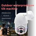 Q1 Открытый PTZ беспроводной IP камера обнаружения движения инфракрасного ночного видения водонепроницаемый наблюдения RJ45/Wifi купольная CCTV Ка...