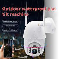 Q1 Outdoor Ptz Wireless Ip Della Macchina Fotografica di Movimento di Rilevamento a Raggi Infrarossi di Visione Notturna di Sorveglianza Impermeabile RJ45/Wifi Dome Telecamera a Circuito Chiuso