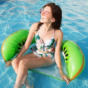 Hamaca de agua inflable para piscina, colchón de natación, anillo de natación, deporte acuático