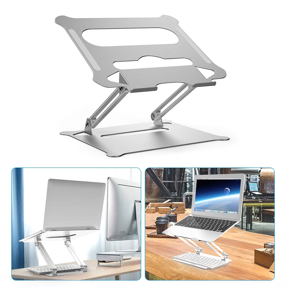 Portable Laptop Stands Height Adjustable Desktops Table Notebook Holders Brackets Office Caring Computer Supplies