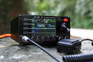 Image 1 - النسخة الإنجليزية KN 990 HF 0.1 ~ 30MHz SSB/CW/AM/FM/IF DSP الرقمي الهواة لحم الخنزير جهاز الإرسال والاستقبال اللاسلكي الطيف + دليل اللغة الإنجليزية