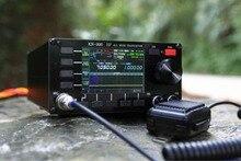 한국어 버전 KN 990 hf 0.1 ~ 30 mhz ssb/cw/am/fm/디지털 IF DSP 아마추어 햄 라디오 트랜시버 스펙트럼 + 영어 설명서