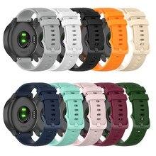 20mm zegarek na rękę pasek na Garmin vivoactive3 muzyka Venu vivomove 3 ruch Luxe ruch styl vivomove HR Watchband bransoletka