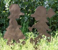 1 set,high 48cm,French country, all iron flower decoration, flower garden, garden groceries,