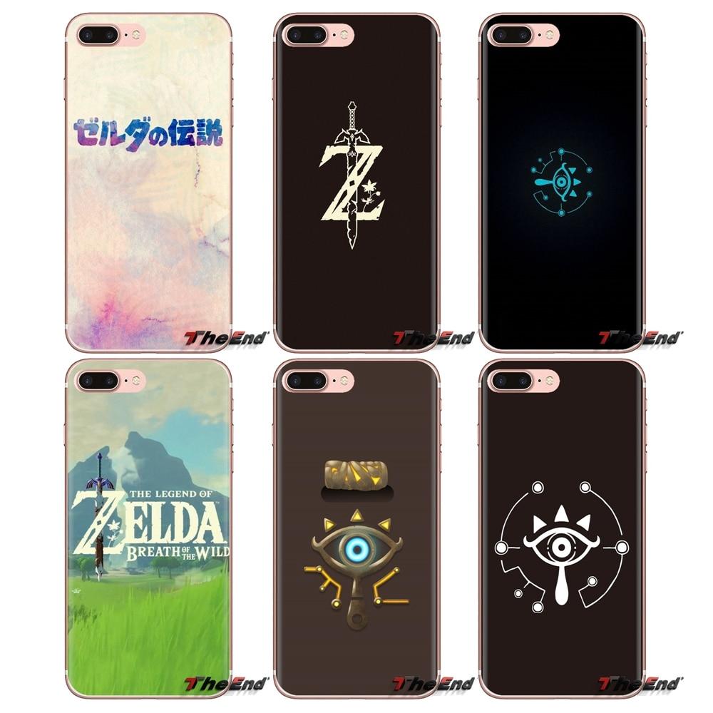 Soft TPU Phone Case Legend Of Zelda BREATH OF WILD For LG Spirit Motorola Moto X4 E4 E5 G5 G5S G6 Z Z2 Z3 G2 G3 C Play Plus Mini