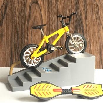 Mini hulajnoga dwukołowiec skuter zabawki edukacyjne dla dzieci Mini hulajnoga fingerboard Bike L4MC tanie i dobre opinie OOTDTY Z tworzywa sztucznego CN (pochodzenie) L4MC7HH1000868-K AS SHOWN Finger deskorolki 5-7 lat 8-11 lat 12-15 lat