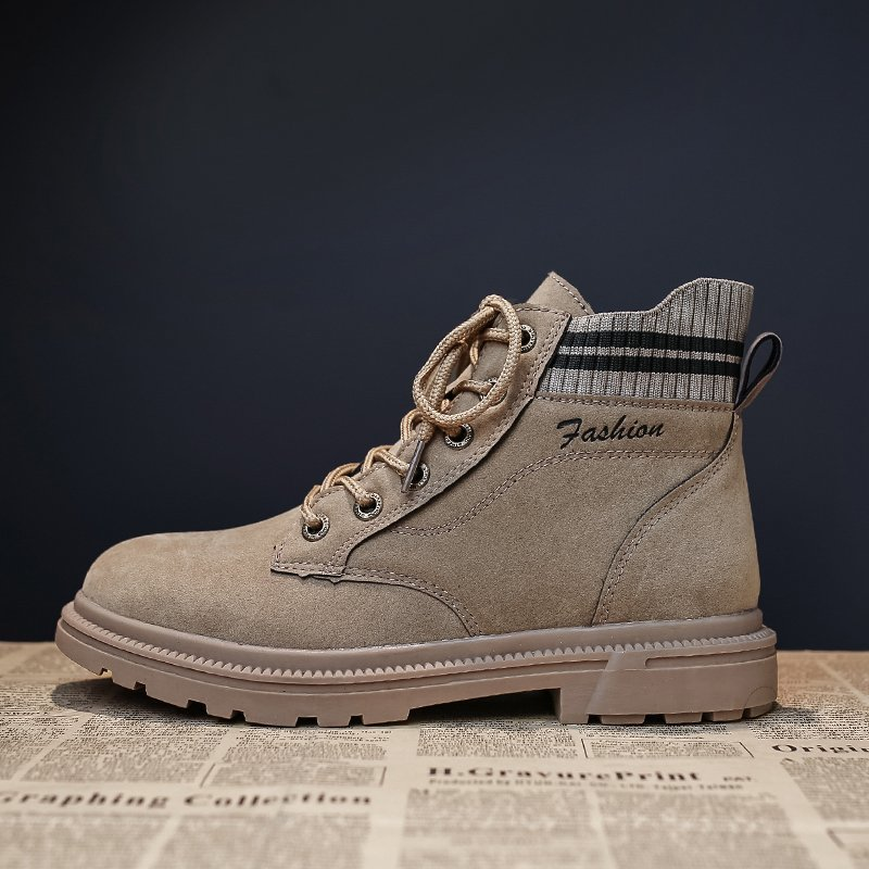 Купить 2020 новые модные короткие ботинки женские спортивные на шнуровке
