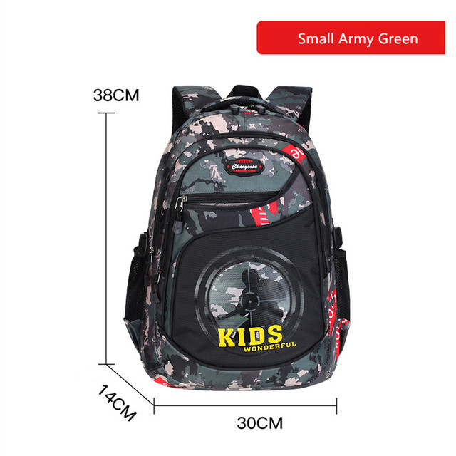 Fengdong primary school bags for boys waterproof bookbag camouflage backpack pen pencil case primary student boy school backpack 4