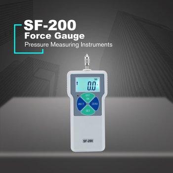 Digital Force Gauge Push & Pull Tester Thrust Meter Dynamometer Pressure High Precision Measuring Instruments 100V-240V SF-200