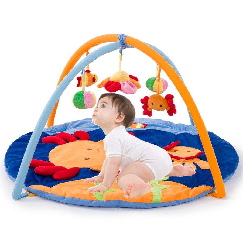 Tapis de jeu doux pour bébé tapis de sol style océan pour enfants tapis de sol pour berceau tapis multifonction tapis de jeu tapis d'activité pour bébé pour enfants jouet sensoriel