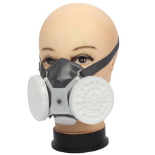 Maska przeciwpyłowa o wysokiej wydajności ochrona maska gazowa przeciwmgielna Haze przemysłowa maska przeciwpyłowa maska przeciwpyłowa Respirator Anti-smoke Outdoor tanie tanio ALESHENG Organiczne Gazu