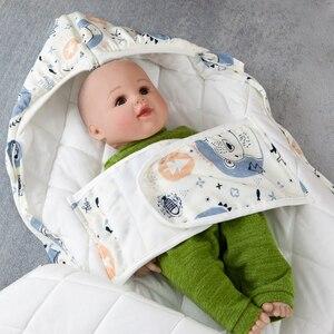 Image 5 - Saco de dormir do bebê cocoon para recém nascidos cobertor envelope sacos de dormir padrão dos desenhos animados novo bebê cocoon envelopes para recém nascidos