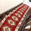 Европейский стиль  10 шт.  комплекты ковров для лестниц  Противоскользящие коврики для лестниц  коврик для лестницы  роскошный  подходит для л...