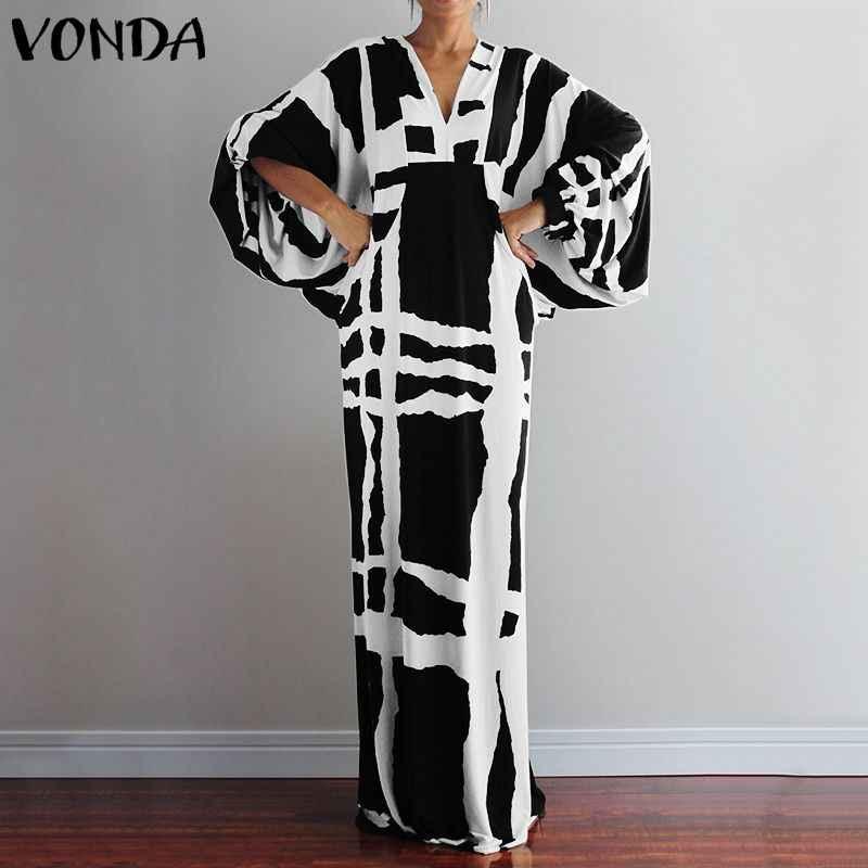 Vivo Nữ ĐầM Maxi Dài Nữ V Gợi Cảm Cổ Áo Sơ Mi Áo Femme Sundress Dáng Rộng Bohemia Đầm Vestido áo Dây 5XL