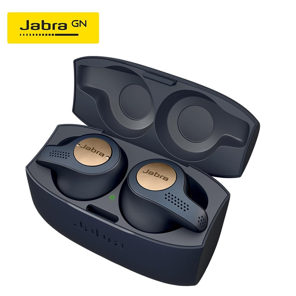 Jabra Elite Active 65t Alexa Enabled True Wireless Sports Earbuds Blue Copper Red Titanium Black With Charging Case Copper Bluetooth Earphones Headphones Aliexpress