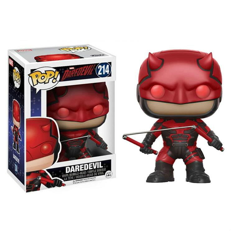 Funko POP Daredevil ELEKTRA Pvc Action Figures Movie Character Collection Model Toys Gift