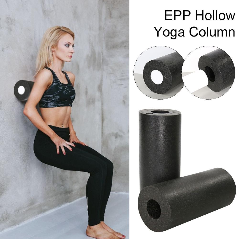 Yoga Column Hollow Yoga Roller Hollow Foam Yoga Shaft For Men Women Workout EPP Muscle Relaxation Accessories