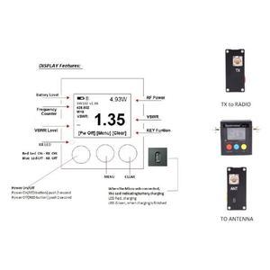 Image 4 - Surecom SW 102S الرقمية VHF/UHF 125 525Mhz SO239 موصل الطاقة و SWR متر (SW102 S)