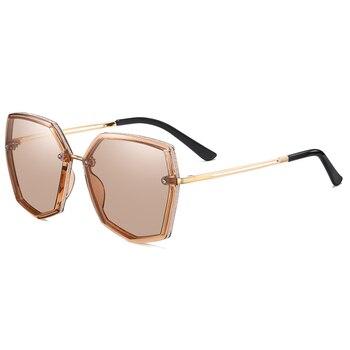 Top Quality Polarized Sunglasses Women Designer New 2021 Trend Driving Sun Glasses For Women Vintage Travel Eyewear UV400 Shades 10