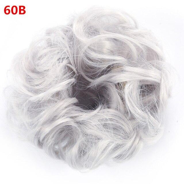 Купить с кэшбэком Wig Hair Circle Ball Head Wig Elastic Force The Bud Head Wig Flower The