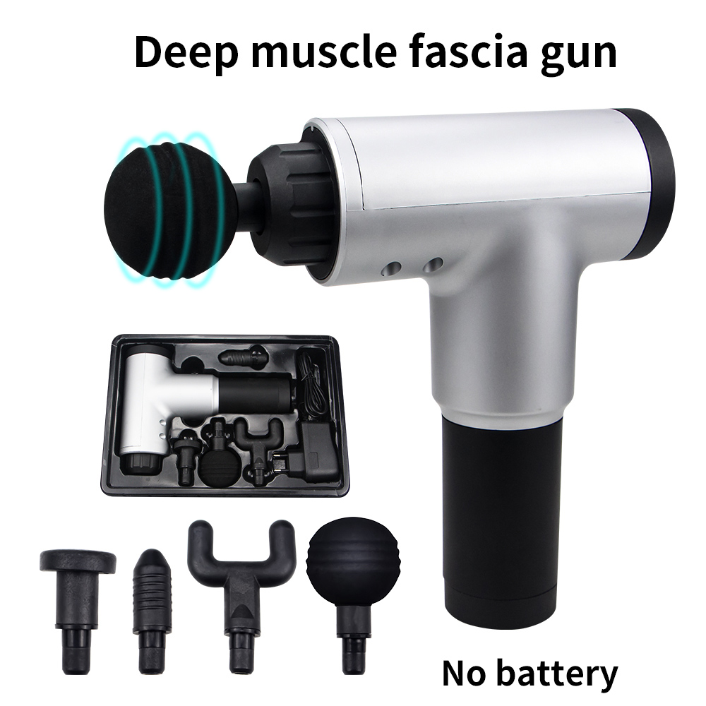 1200-3300r/min Electric Muscle Massage Gun Deep Tissue Massager Therapy Gun Exercising Muscle Pain Relief Body Shaping