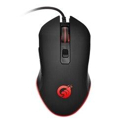 G70 przewodowa mysz dla graczy z usb 6 przycisków 3200DPI wyciszenie optyczna mysz komputerowa mysz dla gracza na PC Laptop Notebook gra RGB