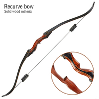 2020 new 58 inch recurve bow 30/35/40/45/50lbs American hunting bow, wooden bow, used for outdoor shooting, archery accessories