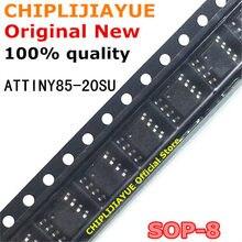 Новые и оригинальные чипсеты IC 2-5 шт. ATTINY85-20SU SOP8 ATTINY85 20SU ATTINY85-20 SOP-8 SMD