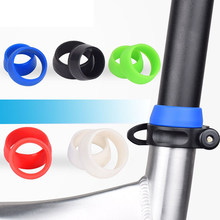 Wasserdichte Gummi Ring Staub Abdeckung Radfahren Silikon Fahrrad Sattelstütze Fall Für Mountainbike Sitz Post Schutzhülle Zubehör