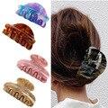 Корейская заколка для волос с изображением звездного неба Macaron цветная пластина заколки для волос акриловая ручка зажим для мытья лица конс...
