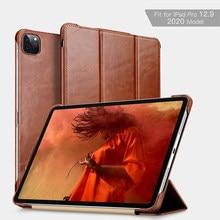 Чехол из натуральной кожи для нового Apple iPad Pro 12,9 2020, высококачественный деловой Чехол-книжка для iPad Pro 11 (дюйма) 10,5