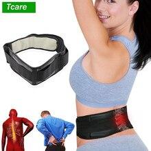 M - 4XL Verstelbare Taille Toermalijn Zelf Verwarming Magnetische Therapie Taille Ondersteuning Riem Lumbale Brace Massage Band Gezondheidszorg
