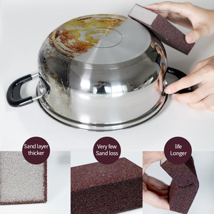 Magic Sponge Removing Rust Clean Cotton Wipe Cleaner Kitchen Tool Kitchen accessories wash pot gadgets(China)