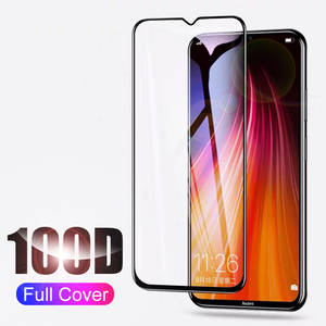 Tempered-Glass Screen-Protector Note 8 Xiaomi Redmi 6A for 8-7 7/6-Pro Curved 7A Full-Cover