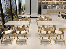Nordic modern net red tea shop table and chair combination simple and fresh cafe dessert shop iron chair small table and chair