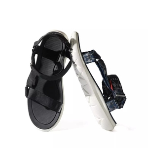 Image 2 - Hot Youpin FREETIE Curved Magic Belt Sandals Non slip shoes Wear resistant Free Buckle Sandals Suitable For Spring and Summer