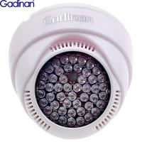 Gadinan-Iluminador LED de 12V 48 luz infrarrojo IR, lámpara de asistencia de visión nocturna, carcasa de plástico ABS para cámara de vigilancia CCTV