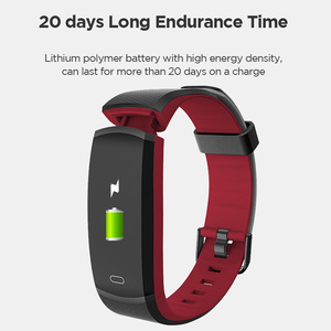 "Image 2 - Lenovo Smart Wristband HX11 0.96"" Heart Rate Monitoring Band 3D Color Screen Sports Smart Watch Weather Display Smart Reminder"